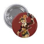 Harley Quinn Bombshell 3 Cm Round Badge