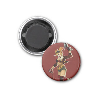 Harley Quinn Bombshell 3 Cm Round Magnet