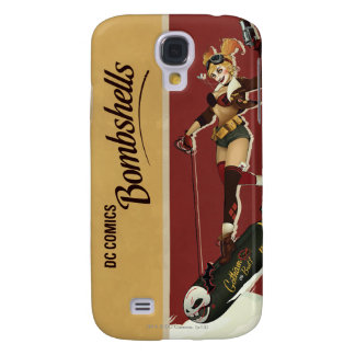 Harley Quinn Bombshell Galaxy S4 Case