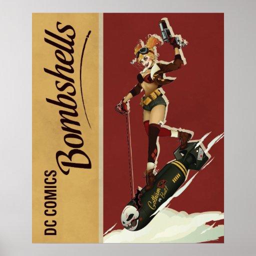Harley Quinn Bombshell Poster