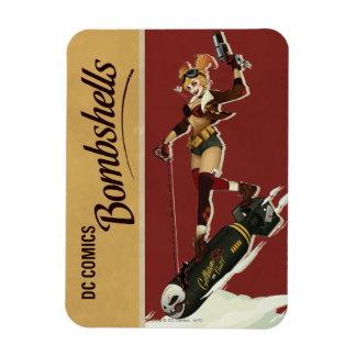 Harley Quinn Bombshell Rectangular Photo Magnet