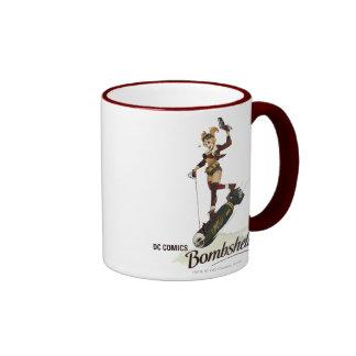Harley Quinn Bombshell Ringer Mug