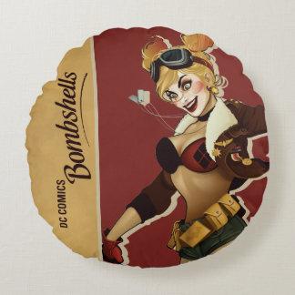 Harley Quinn Bombshell Round Cushion