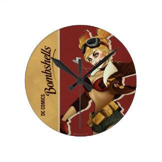 Harley Quinn Bombshell Wall Clock