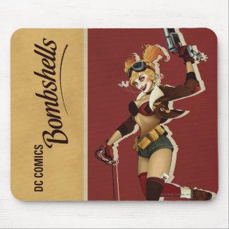 Harley Quinn Bombshells Pinup Mouse Pad