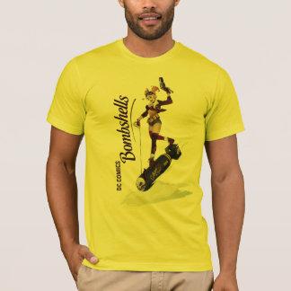 Harley Quinn Bombshells Pinup T-Shirt