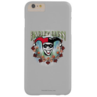 Harley Quinn - Face and Logo Barely There iPhone 6 Plus Case