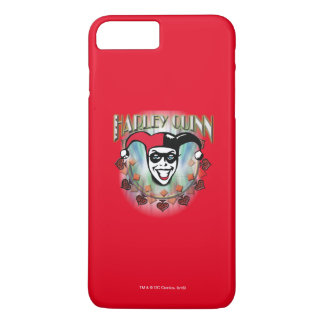 Harley Quinn - Face and Logo iPhone 7 Plus Case