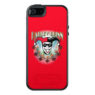 Harley Quinn - Face and Logo OtterBox iPhone 5/5s/SE Case