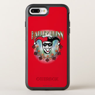 Harley Quinn - Face and Logo OtterBox Symmetry iPhone 7 Plus Case