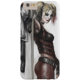 Harley Quinn Illustration Barely There iPhone 6 Plus Case