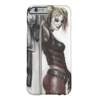 Harley Quinn Illustration Barely There iPhone 6 Case