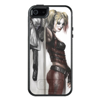 Harley Quinn Illustration OtterBox iPhone 5/5s/SE Case