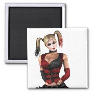 Harley Quinn Square Magnet