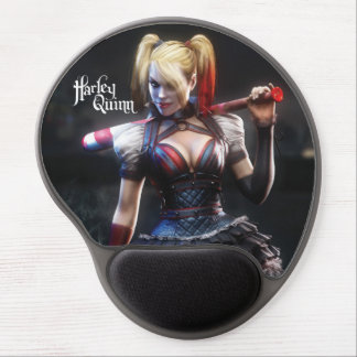 Harley Quinn With Bat Gel Mouse Pad