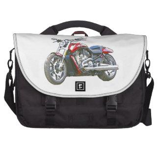 Harley VRSCF V Rod Hand Painted Art Brush Bag Laptop Bags