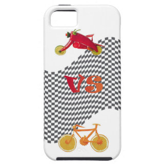 Harley vs Bicycle iPhone 5 Case