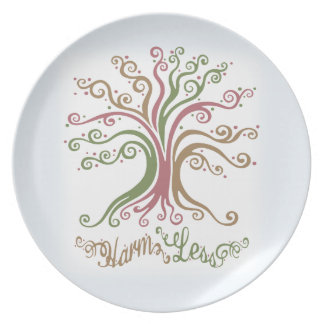 Harm Less Party Plate