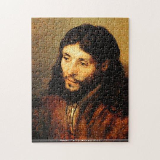 Harmensz Van Rijn Rembrandt - Christ Jigsaw Puzzle