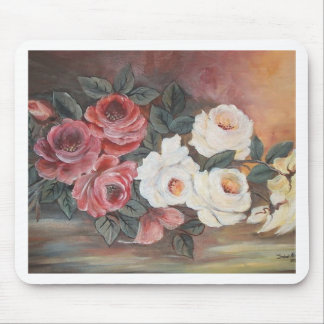 Harmonia de Rosas - óleo - 40x60 Mouse Pad