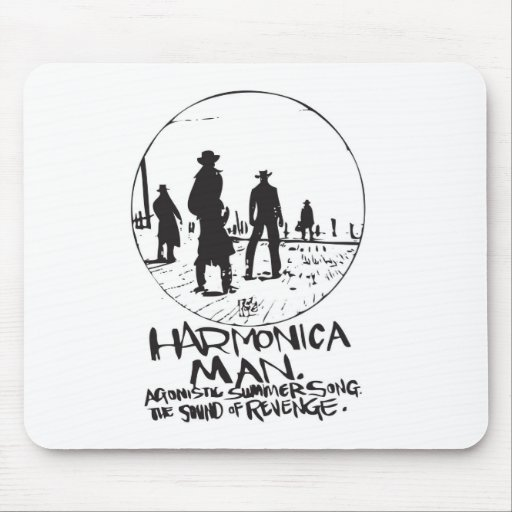 HARMONIC IN THE WEST MOUSE PAD