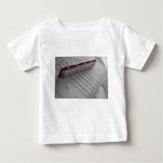 Harmonica Music Notes Book Baby T-Shirt