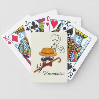Harmonize, Barbershop Quartet Bicycle Playing Cards