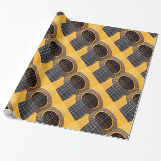 Harmony Acoustic Guitar Wrapping Paper