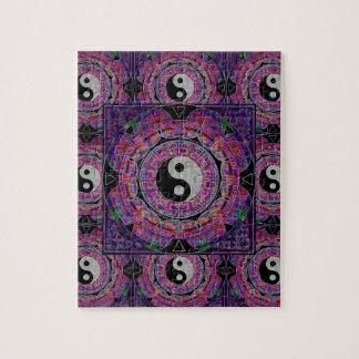 Harmony & Balance Purple Mandala Puzzle