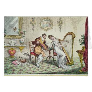 Harmony before Matrimony, 1805 Card