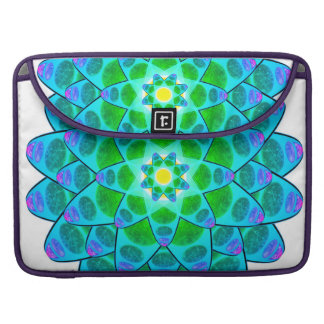 Harmony Flower Mandala MacBook Pro Sleeve