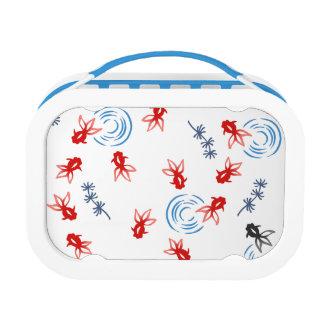 < Harmony handle goldfish >Goldfishes of Japanese Lunch Box