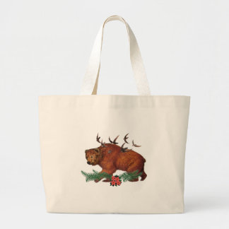 Harmony In Nature Large Tote Bag