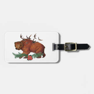 Harmony In Nature Luggage Tag
