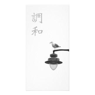 Harmony kanji and seagull photocard personalized photo card