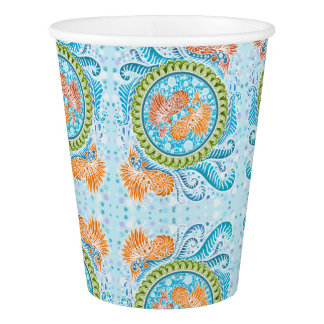Harmony of the seas ,boho,hippie,bohemian paper cup