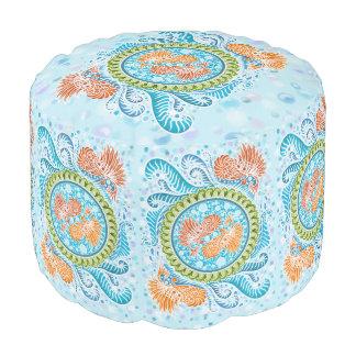 Harmony of the seas ,boho,hippie,bohemian pouf