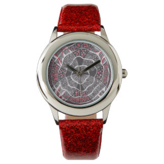 Harmony Red Black and White watch (Kids)