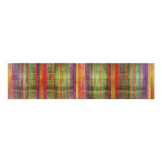 Harmony Stripes Abstract Modern Art Poster Print