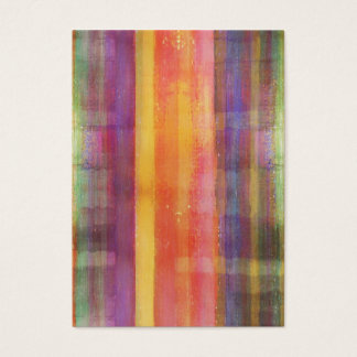 Harmony Stripes Colors Abstract Art Business Cards