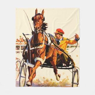 Harness Race Fleece Blanket