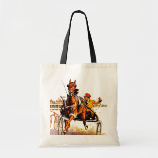 Harness Race Tote Bag
