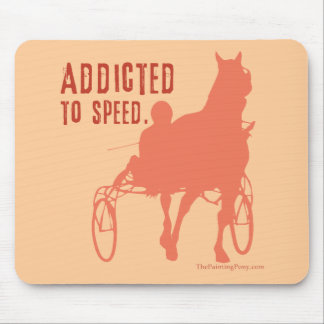 Harness Racing Horse Lover Mouse Pad