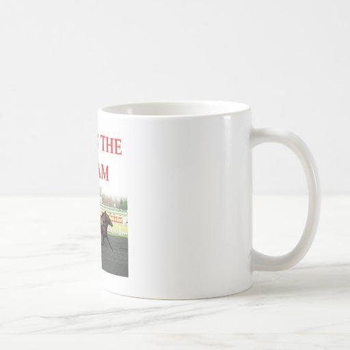 harness racing coffee mugs