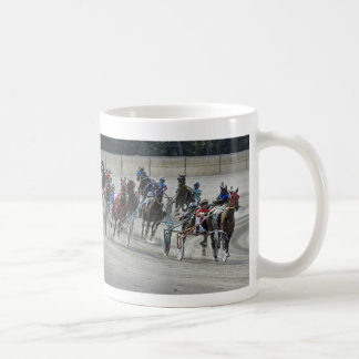 Harness Racing Rounding Last Turn Mug