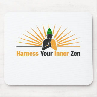 Harness Your Inner Zen Mouse Pad