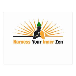 Harness Your Inner Zen Postcard