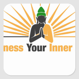Harness Your Inner Zen Square Sticker
