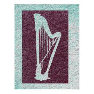 Harp 2 postcard