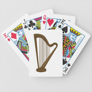 Harp Bicycle Playing Cards